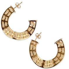 Cabana Hoops #Earrings #Hoops