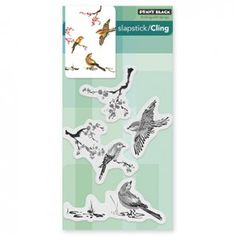 PENNY BLACK CLING STAMP - WINGED BUTTERFLY