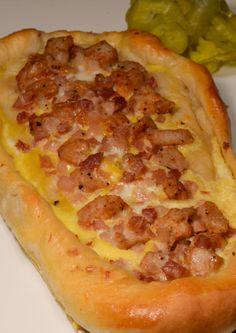 Macedonian Pizza (Pastrmajlija)