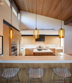 Kitchen Light Pendants Macy Table Sets 162 Best Lighting Images Pendant Lights Island Emits Golden Glow In Sun Valley Idaho Home