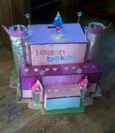 Disneyu0027s Frozen Castle Valentine Box | Valentine Boxes | Pinterest | Box