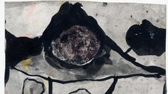 Graham Sutherland show at Modern Art Oxford, UK Mountain Landscape', 1936 Courtesy of Amgueddfa Cymru - National Museum Wales Mark Making, Mountain Landscape, Landscape Art, Notan Design, Abstract Expressionism, Abstract Art, Modern Art, Contemporary Art, Art Fund