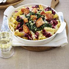 Ofen-Rigatoni mit Lachs & Rote Bete Rezept