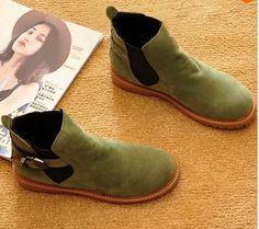 Autunno e inverno donna stivali moda in pelle scamosciata stivaletti stivali da donna scarpe di marca casuali trasporto libero