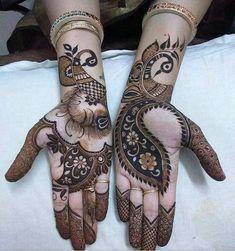 Top 20 Bridal Mehndi Design Images And Photos Latest Henna Designs, Basic Mehndi Designs, Henna Art Designs, Mehndi Designs For Beginners, Mehndi Designs For Girls, Mehndi Design Photos, Latest Mehndi Designs, Right Hand Mehndi Design, Mehandhi Designs