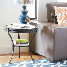 FREE SHIPPING! Shop Wayfair for Mercury Row Spokes End Table - Great Deals on all Furniture products with the best selection to choose from!