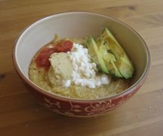 Mexican Inspired Savory Oats