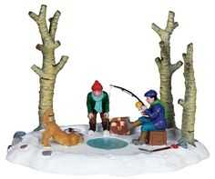 "LEMAX CHRISTMAS VILLAGE ""I'VE GOT ONE"" PRODUCT No. 03832 TABLE ACCENT 2010 #Lemax"