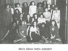 1940s Delta Sigma Theta Sorority, Inc. via: living the dream: April 2010
