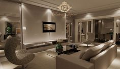 projeto de decoração de interiores sala de tv