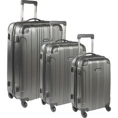 Kenneth Cole Reaction Out of Bounds 3 Piece Hardside Luggage Set, $179.99   eBay