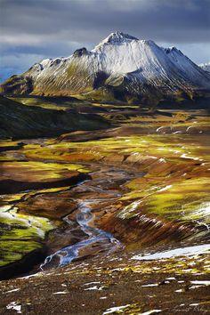 Near the Alfavatn Lake, Iceland