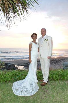 wedding at the beach @waka gangga Bali