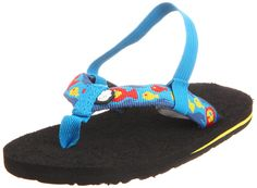 Gotta love Teva guppy flip flops! These come in super teeny weenie, itsy bitsy sizes for those wee tikes, or to hang from your rear view mirror cuz that are that adorable.