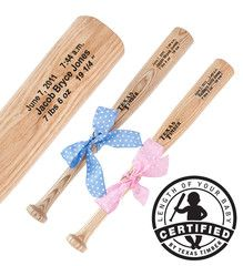 Baby Baseball Bat--built to match the length of your baby!!!