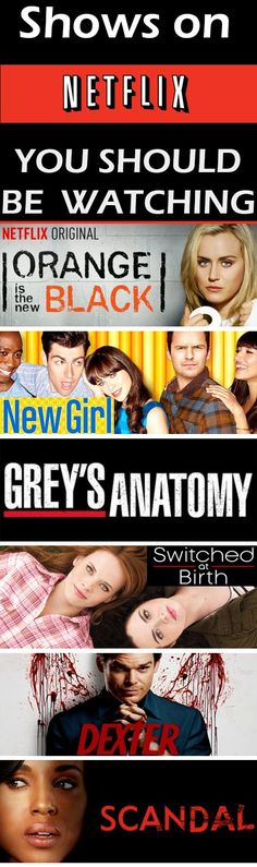 Shows on Netflix You Should be Watching