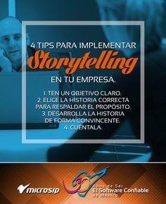 #TipsMicrosip 4 tips para implementar storytelling en tu empresa