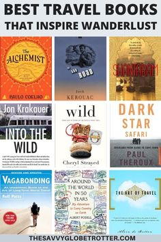 Are you looking for the best travel books to read? This inspirational reading list of the best travel novels and memoirs will fuel your wanderlust transport you to another time and place inspire you to plan your next adventure and travel the world! Best Travel Books, Travel Movies, Best Books To Read, Good Books, Books About Travel, Best Adventure Books, Adventure Quotes, Time Travel, Adventure Travel