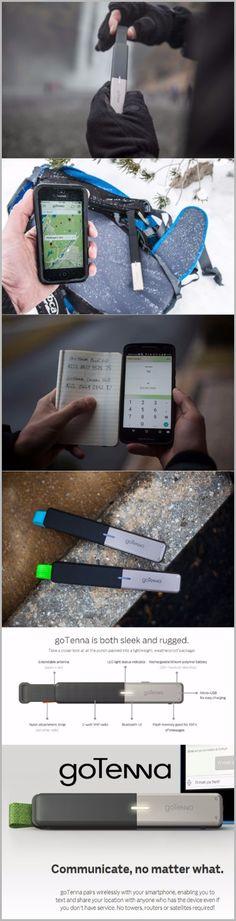 goTenna Off-Grid Text & GPS EDC Survival Gear Emergency Communication Enabler