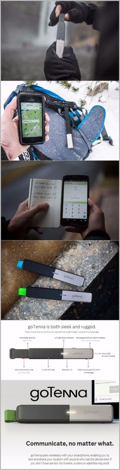 goTenna Off-Grid Text & GPS EDC Survival Gear Emergency Communication Enabler