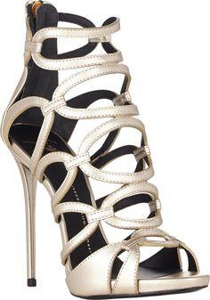 Giuseppe Zanotti Link-Strap Platform Sandals