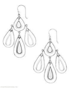 Rain Dance Earrings, Earrings - Silpada Designs