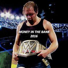 WWE Dean Ambrose Champ
