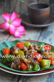 Daging Lombok Kethok Dengan Gambar Resep Daging Sapi Resep Masakan Indonesia Resep Masakan