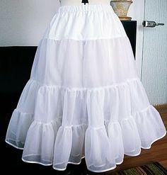 50's dress paterns   Free 50's Petticoat Pattern