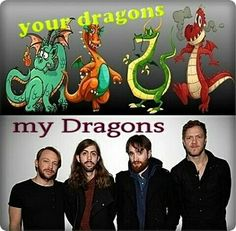 Imagine Dragons-my Dragons