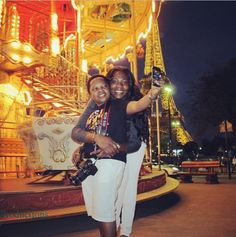 NIGERIAN TOP SECRET: Aki and His Wife Holiday in Paris