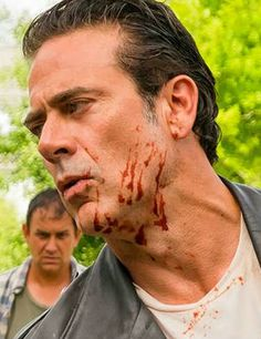 The walking Dead. Jeffrey Dean Morgan (aka) Negan