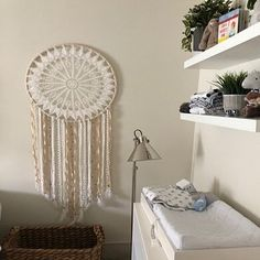 Items similar to Large wall tapestry, large macrame wall hanging, woven wall art on Etsy Giant Dream Catcher, Dream Catcher Nursery, Small Dream Catcher, Dream Catcher Boho, Dream Catchers, Yarn Wall Hanging, Large Macrame Wall Hanging, Tapestry Wall Hanging, Baby Shower Boho