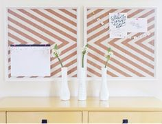 8 easy diy paint projects you can do this weekend. For more easy DIY ideas and paint and color inspiration go to Domino. Cool Diy Projects, Home Projects, Marco Ikea, Expensive Art, Diy Home Decor, Room Decor, Wall Decor, Wall Art, Diy