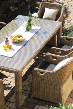 Terrassenmöbel polyrattan hell  64 best Gartengarnituren images on Pinterest