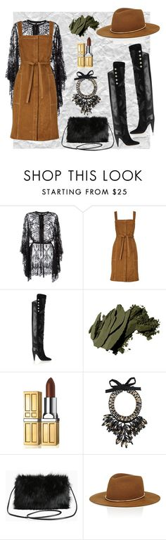 """Untitled #113"" by dido-c ❤ liked on Polyvore featuring Elie Saab, M.i.h Jeans, Isabel Marant, Bobbi Brown Cosmetics, Elizabeth Arden, NIGHTMARKET, Torrid and Janessa Leone"