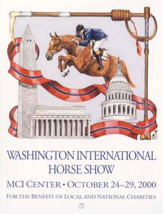 Vintage posters from the Washington International Horse Show