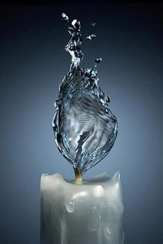 .water candle
