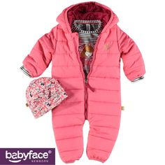 Part of the Babyface Newborn girls WINTER 2015 collection. In stores from September 2015. T-shirt, Winter Suit and Hat.