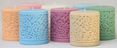 Rapeseed Trial Mini Candles - perfect for Mother's Day - by Parable Designs For Life - http://www.parabledesigns.co.uk
