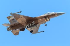 General Dynamics F-16C Fighting Falcon of the 64th Aggressor Squadron from Nellis AFB