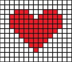 cross stitch heart - Google Search