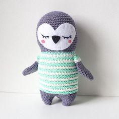 Crochet pattern Penguin amigurumi Amigurumi, design Sweetamigurumidesign