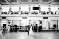 Soldiers & Sailors Memorial Hall & Museum | Wedding Reception | First Dance | Katie & Nick | Kelsey Kradel Photography | Pittsburgh