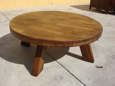 Large French Antique Round Rustic Coffee Table Antique Furniture Exactly This But Not 745 00