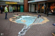 3D Street Art. #Illusion