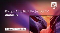 Philips AmbiLux TV @ IFA 2015 (Projection Ambilight)