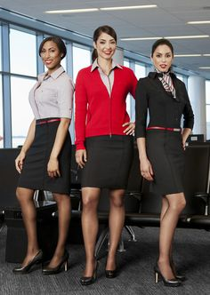 Virgin America Uniforms by Banana Republic