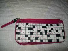 Relic Crossword Puzzle Wallet.