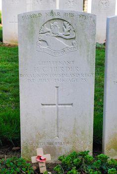 Beaumont-Hamel Newfoundland Memorial Grave Marker